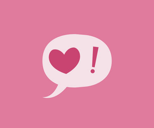 heart, pink, and wallpaper image
