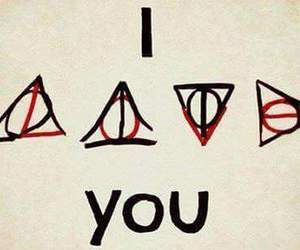 love, harry potter, and I Love You image