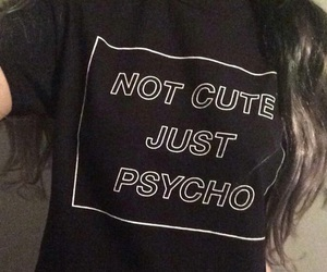 cute, grunge, and Psycho image
