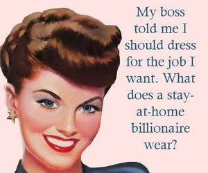 boss, dress, and humor image