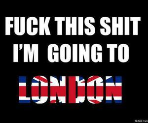 fuck you and london image
