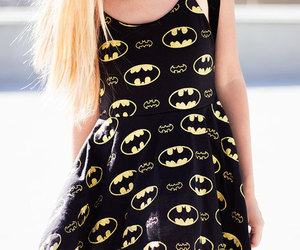 batman, dress, and fashion image