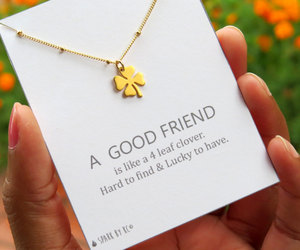 clover, friendship, and gold image