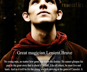 legend, merlin, and quotes image