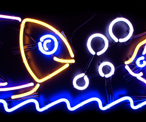 light, neon, and sign image