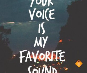 love, voice, and sound image