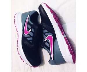 nice, nike, and shoes image