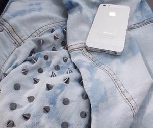 iphone, fashion, and jacket image