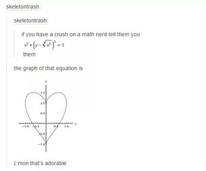 love, math, and tumblr image