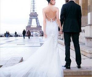 paris, wedding, and dress image