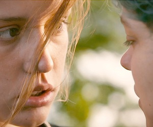 blue is the warmest color, lesbian, and la vie d'adèle image