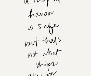 quotes, ship, and life image