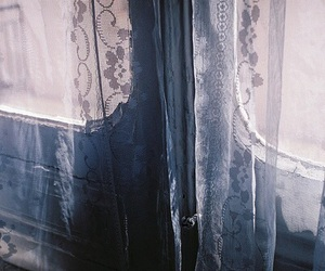 window, lace, and vintage image
