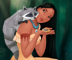 disney, disney princess, and pocahontas image