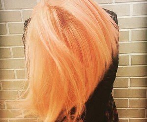 bleach london, hair goals, and awkward peach image