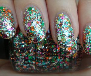 glitter, nails, and muppets image