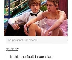 funny, tfios, and the fault in our stars image