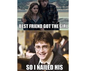 funny, harry potter, and ginny weasley image