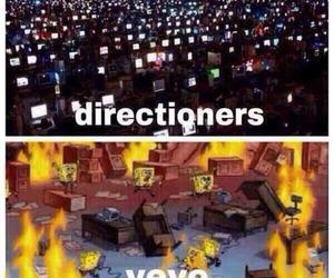 vevo, one direction, and directioners image