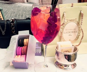 drink, luxury, and food image