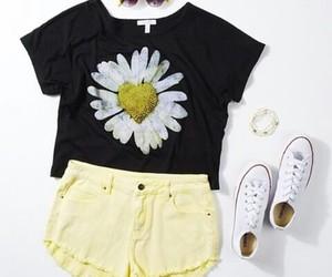 converse, fashion, and yellow image