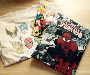 Marvel, spiderman, and superhero image
