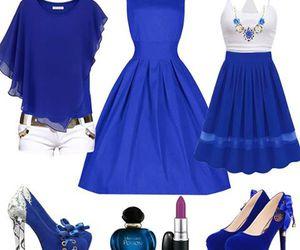 beauty, casual dress, and women fashion image