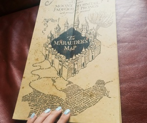 harry potter, hogwarts, and mischief managed image