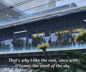 rain, sky, and quotes image