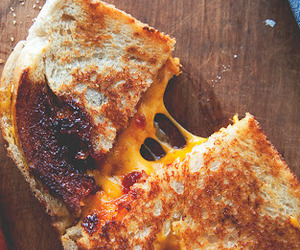 food, grilled cheese, and lunch image