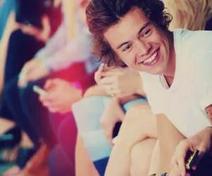 big smile, happy, and Harry Styles image
