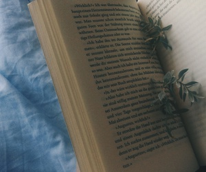 background, blue, and book image