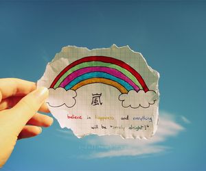 believe and happiness image