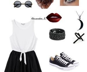 cappelli, converse, and Polyvore image