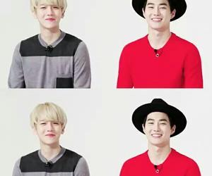 exo, exo k, and baekhyun image