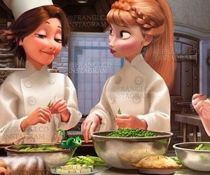 anna, food, and frozen image