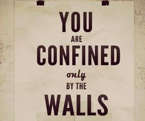 quote, wall, and yourself image