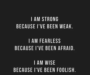 fearless, quote, and strong image