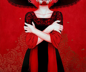 catrina, mexican, and skull image