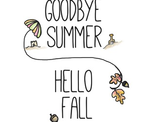 fall, autumn, and summer image