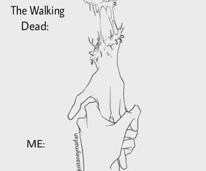 me, series, and walking dead image