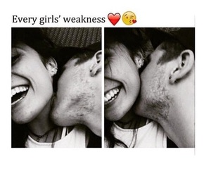 love, girl, and weakness image
