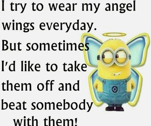 minions and wings image