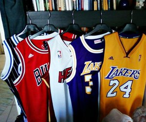 lakers, Basketball, and bulls image