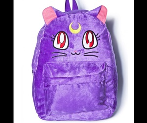 backpack, cat, and luna image
