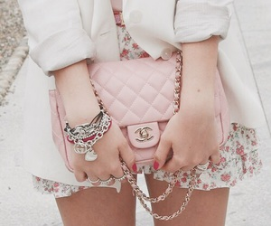 bag, girly, and style image