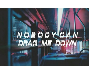 Lyrics, drag me down, and 1d image