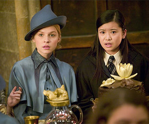 harry potter, fleur delacour, and hogwarts image