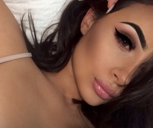 chic, nails, and eyebrows image