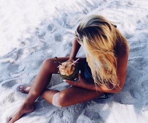 beach, drink, and inspiration image